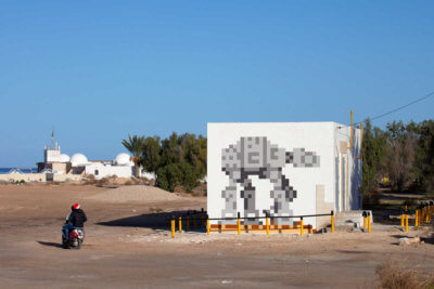 AT-AT mosaico de Invader