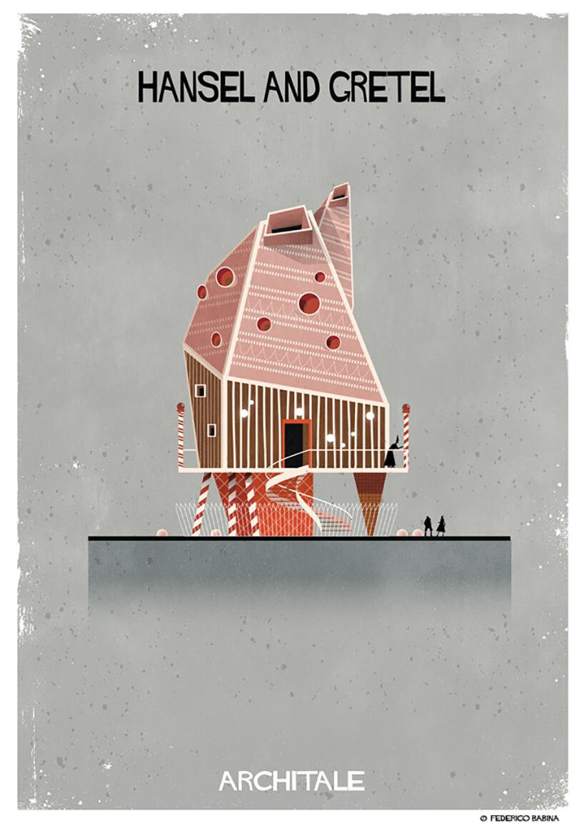 arquitectura onírica casa hansel y gretel