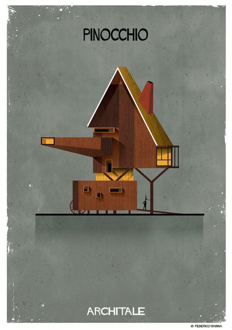 arquitectura onírica casa pinocho