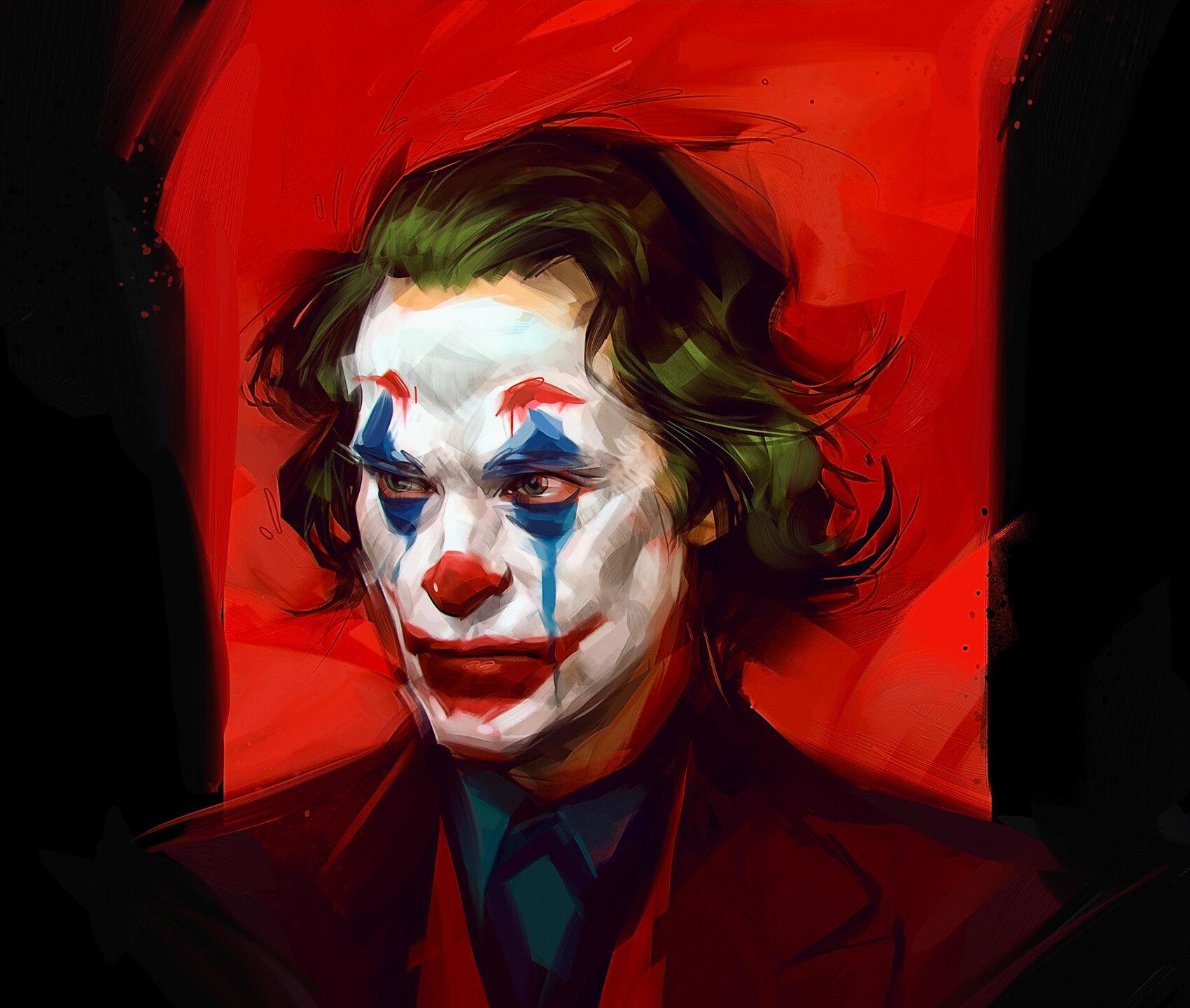 caricatura de celebridades joker