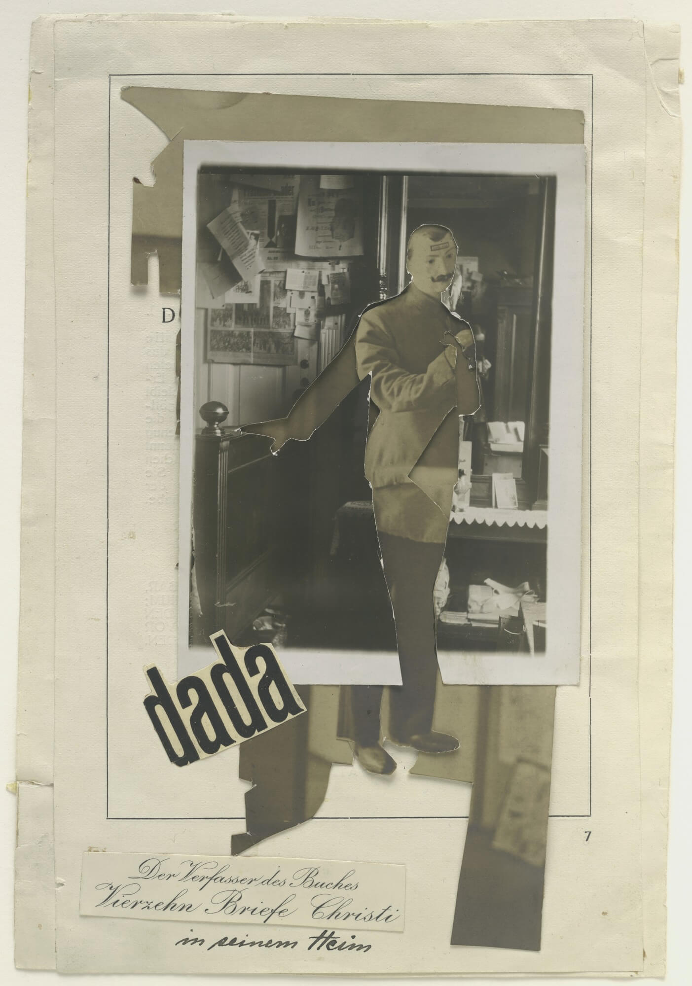 JOHANNES BAADER COLLAGE DADA