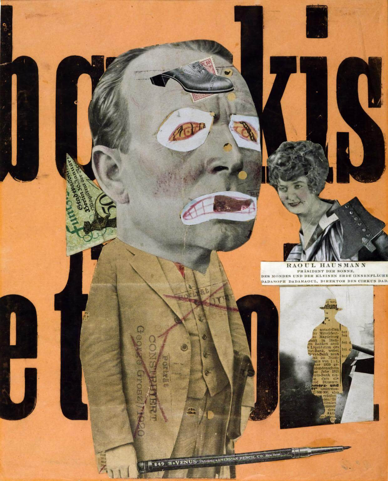 JOHANNES BAADER COLLAGE