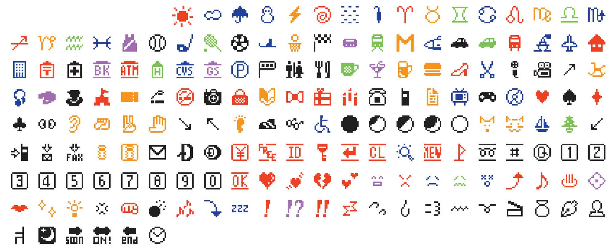 Primeros emojis creados