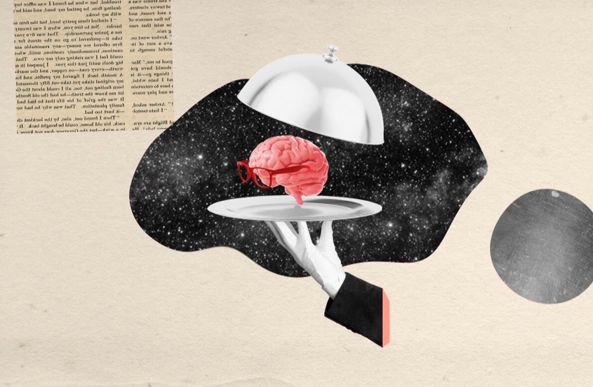 gabriel russo collage digital cerebro