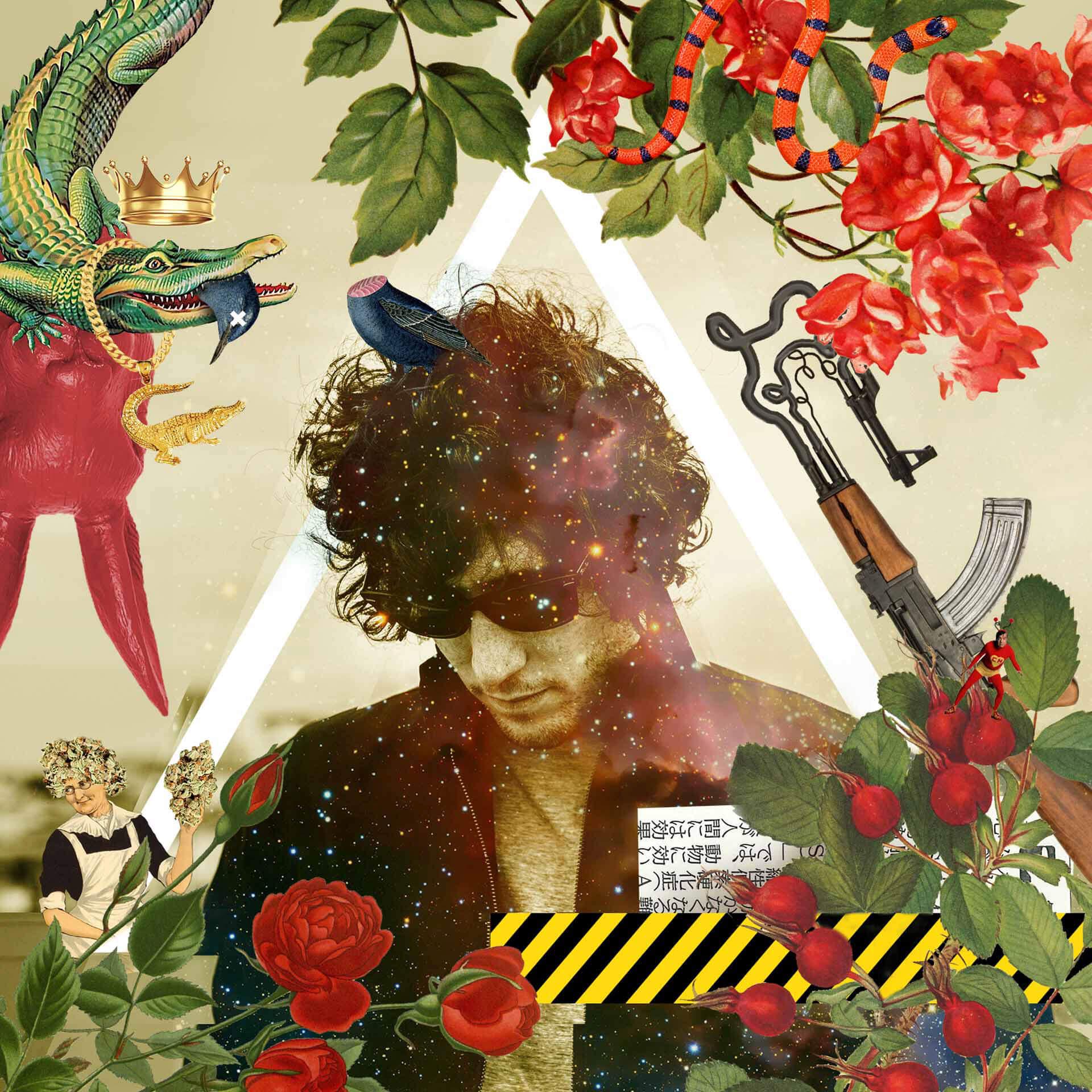gabriel russo collage digital jardin