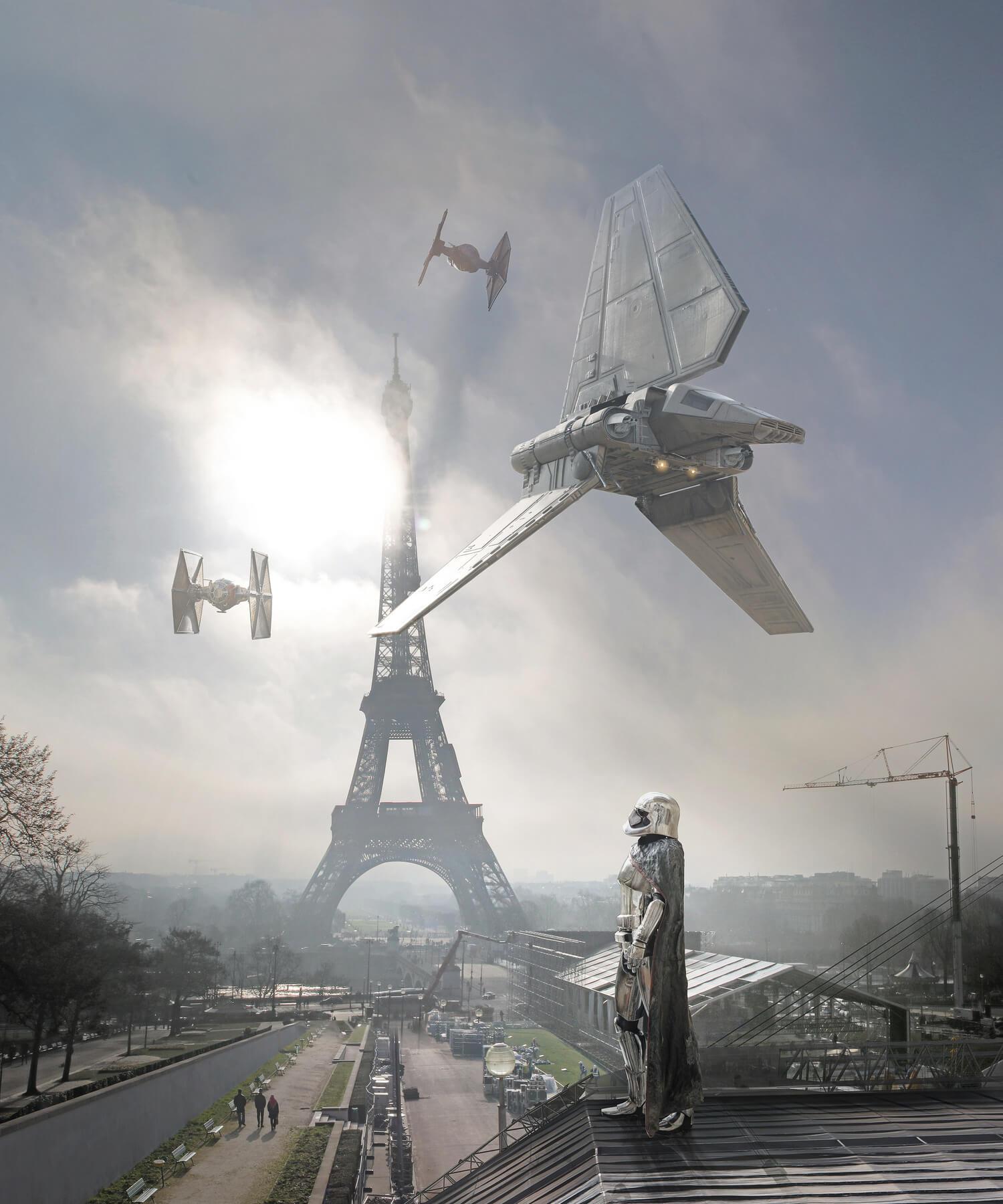 Fotomontajes de una realidad alternativa de Star Wars por Lauren Pons