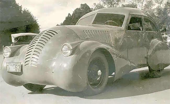 Coche ruso GAZ A-Aero (1934)