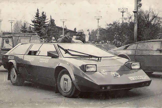 coche ruso deportivo Pangolina (1980)