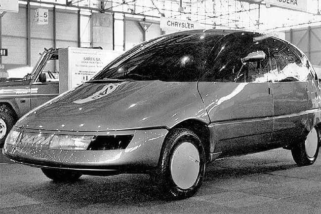 coche ruso conceptual NAMI Okhta (1986)