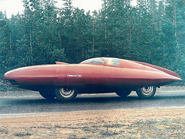 coche ruso GAZ Torpedo (1951)