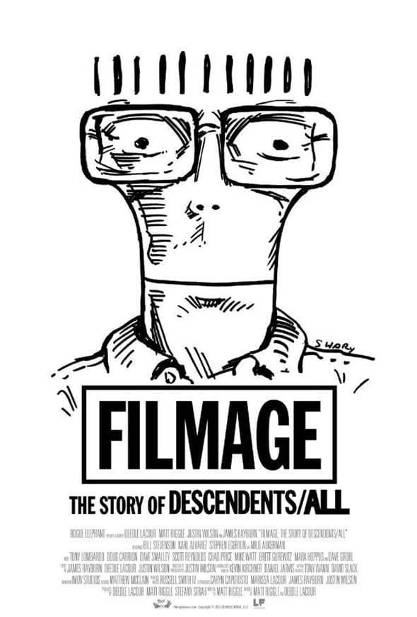 Poster del documental sobre descendets, filmage