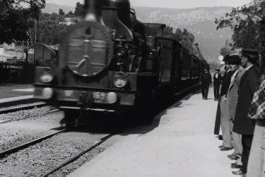 Tren llegando a La Ciotat,Hermanos Lumière