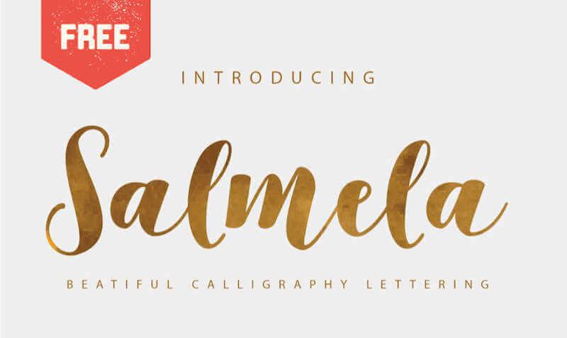 Fuente tipográfica tipo escritura