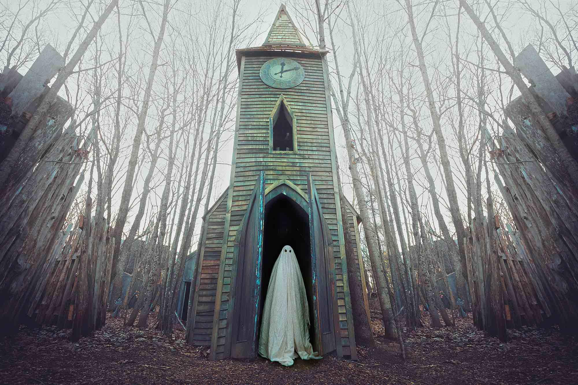 fotografía de un fantasma