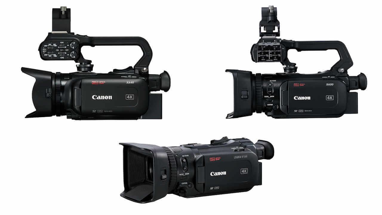 Cámara de video canon xa55