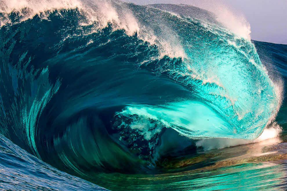 """""""Empty"""". (Fotografía de surf de Trent Slatter)"""