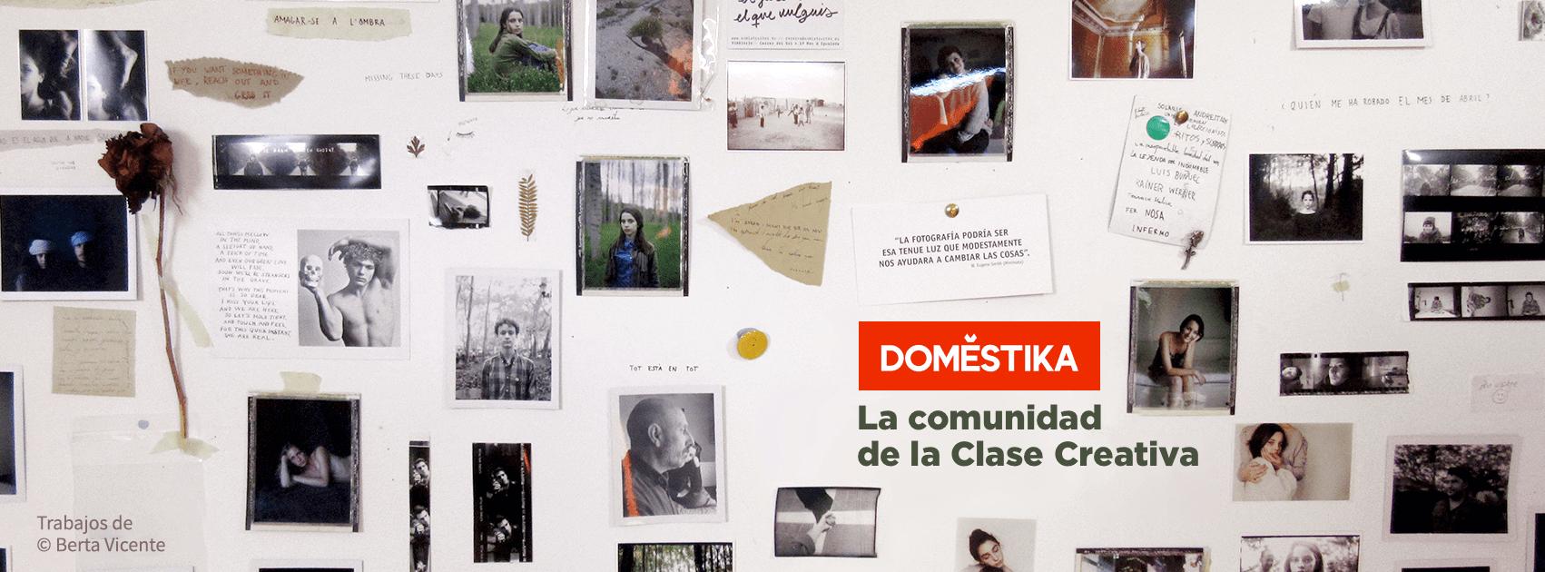 Banner de códigos de descuento de cursos domestika