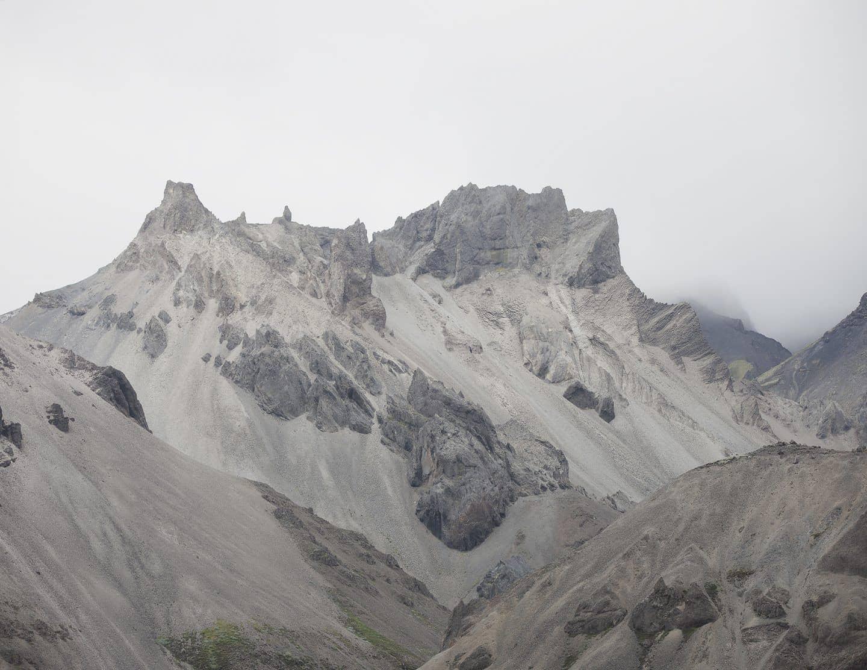 fotografía de paisaje en islandia, volcan