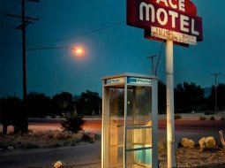 Fachada del motel Ace