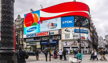 Picadilly circus pantallas led