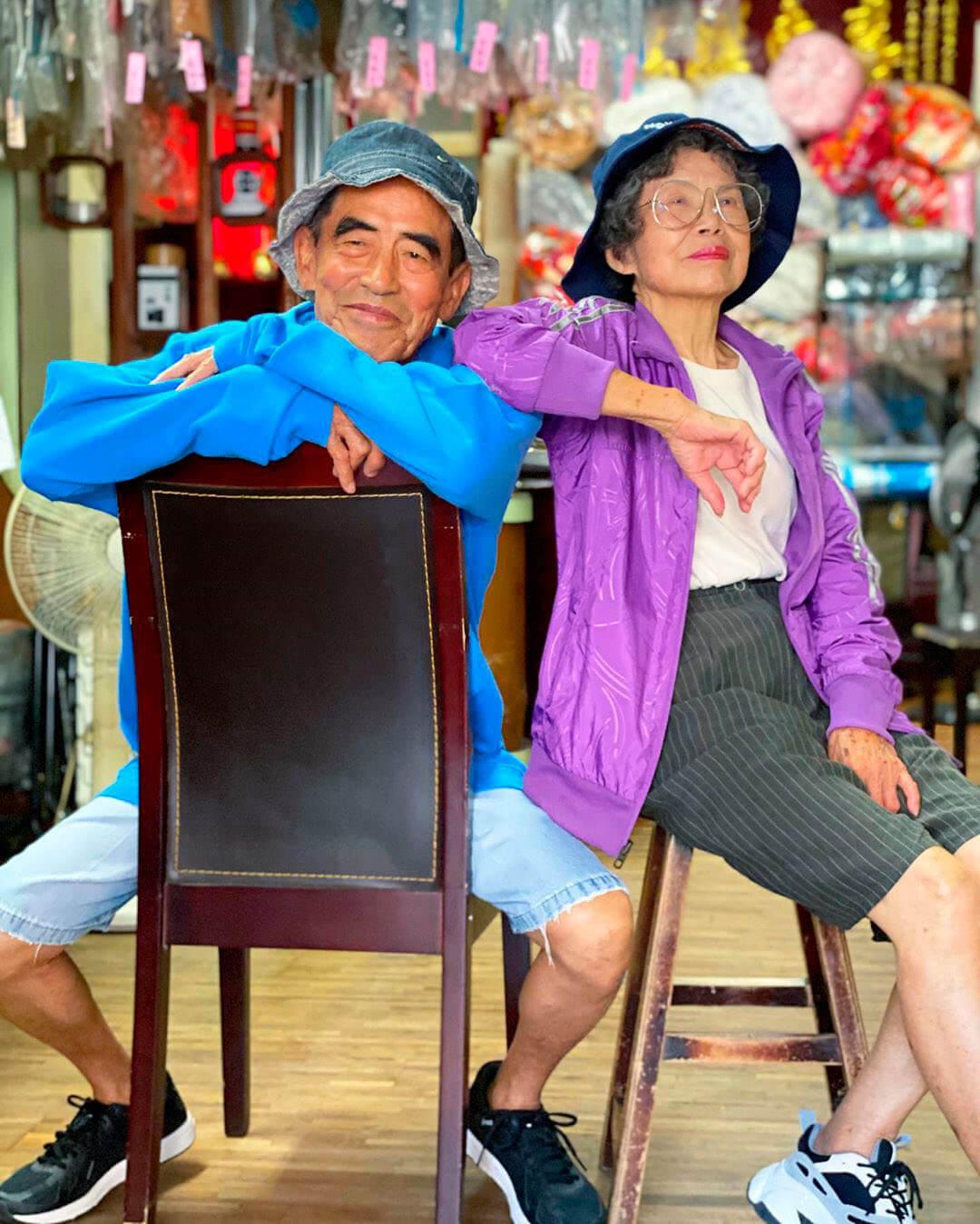 Chang Wan-ji Hsu Sho-er pareja taiwan