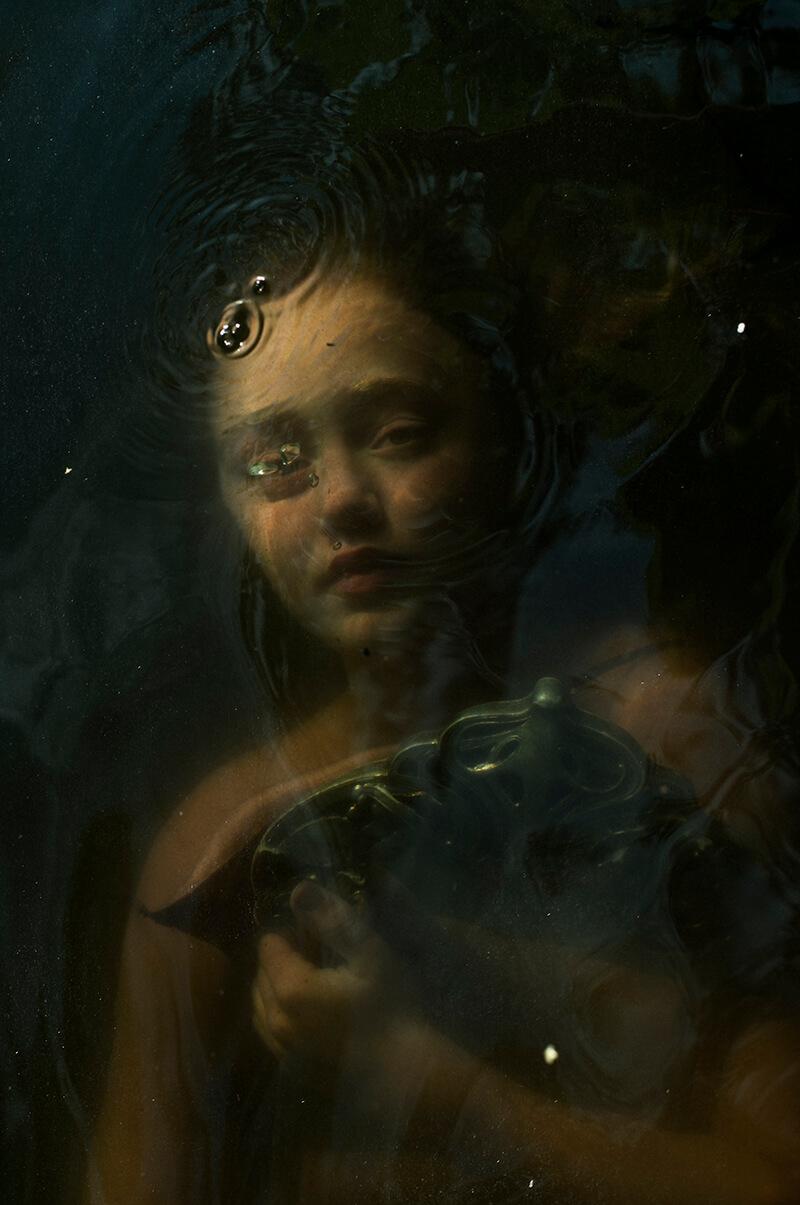 Elinleticia Högabo foto bajo agua