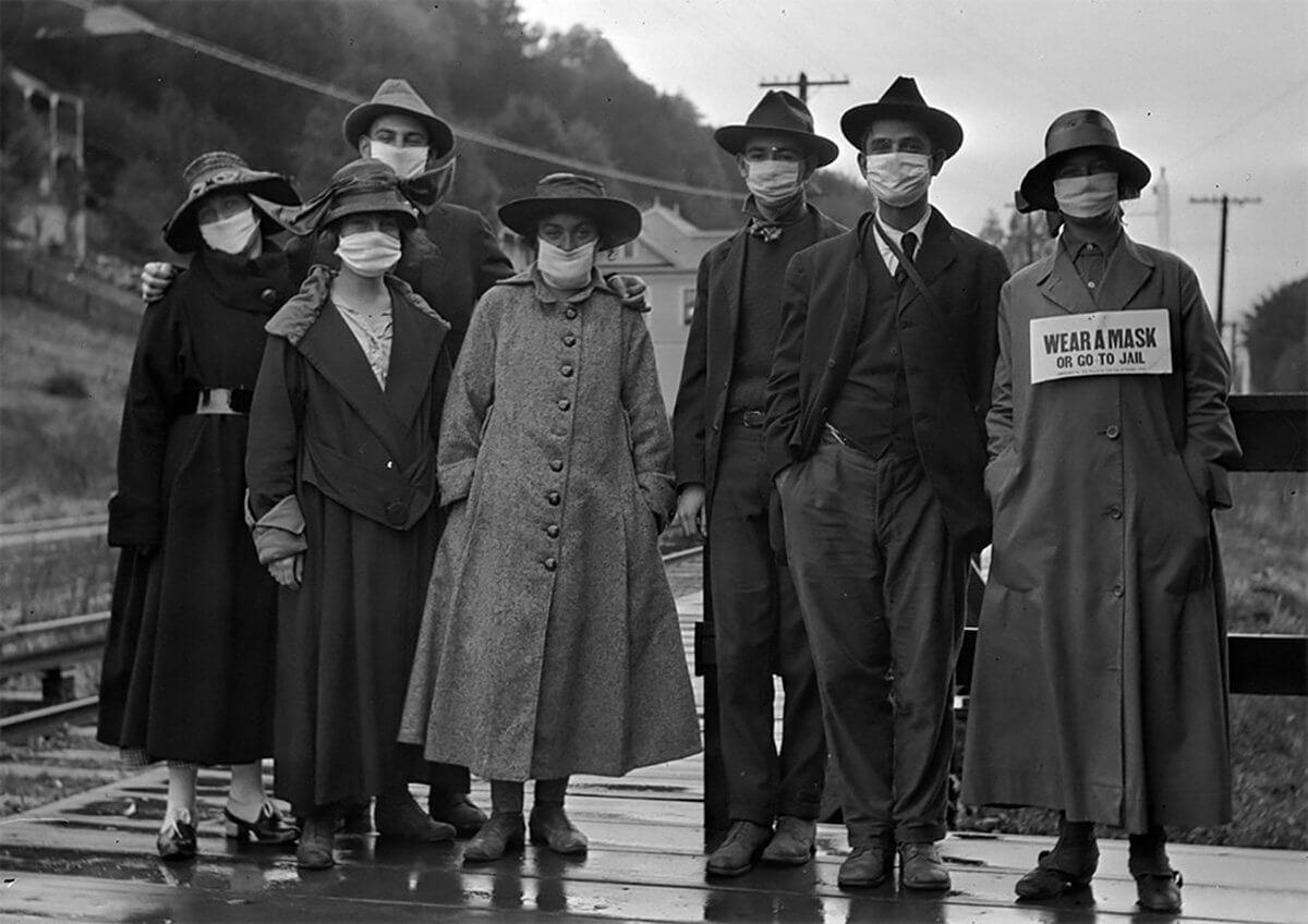gente pandemia 1918