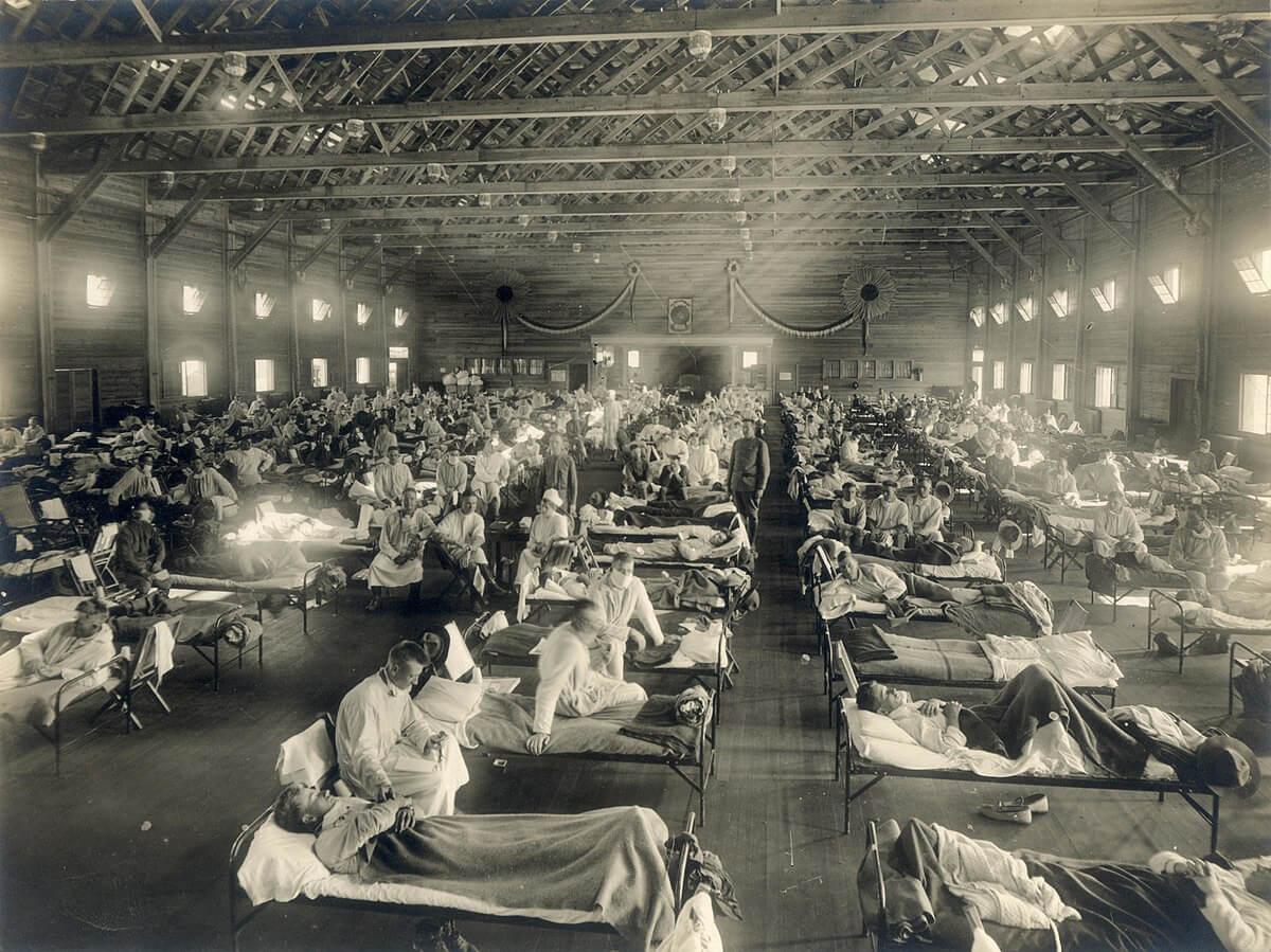 hhospitales pandemia 1918