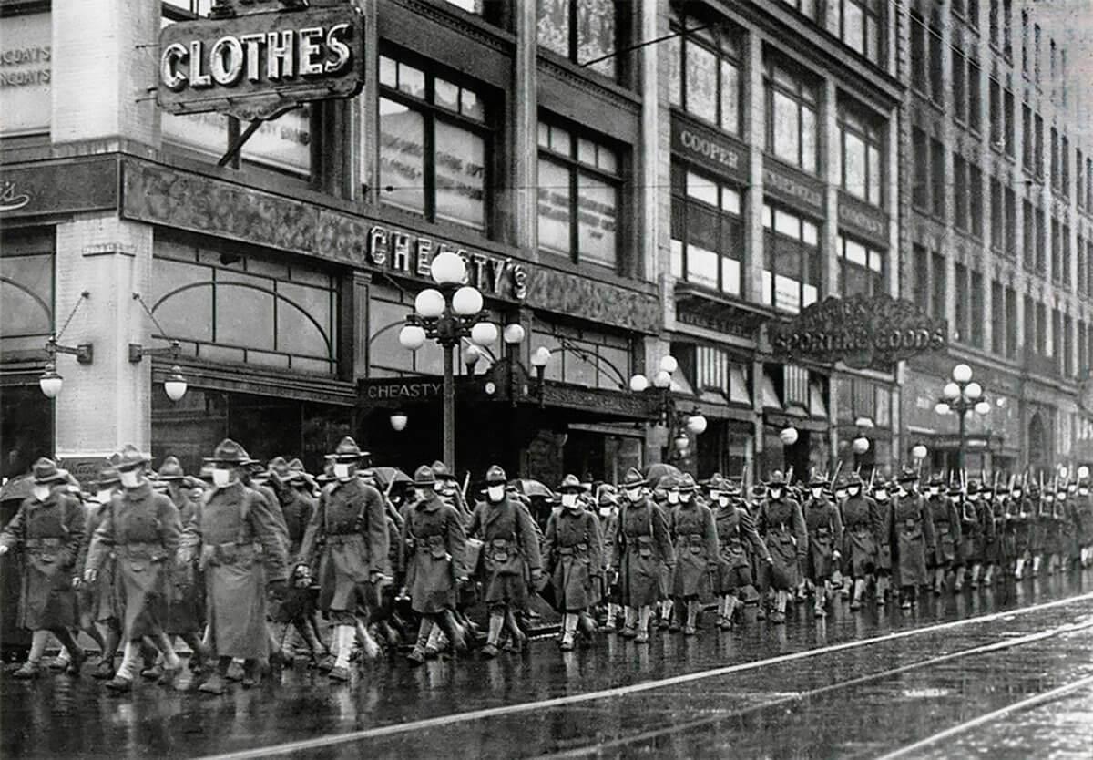 militando pandermia 1918