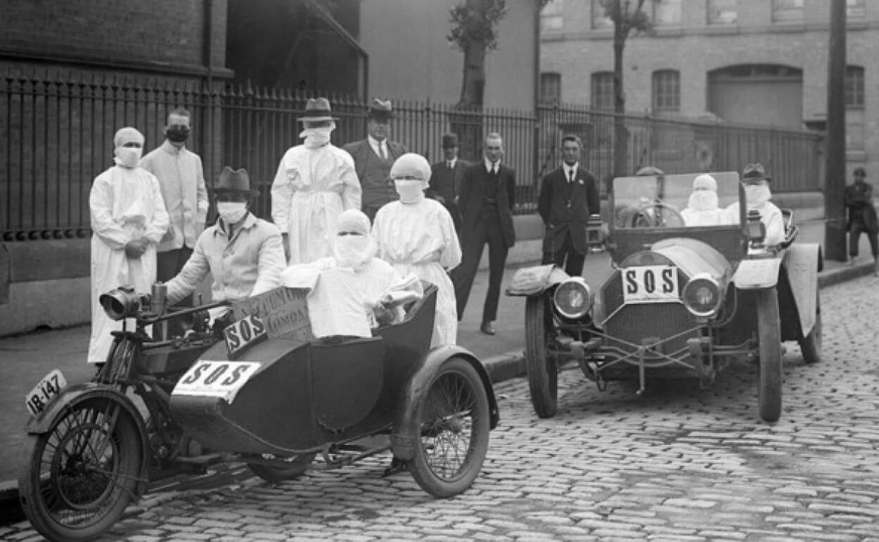pandemia 1918 fotografia vintage