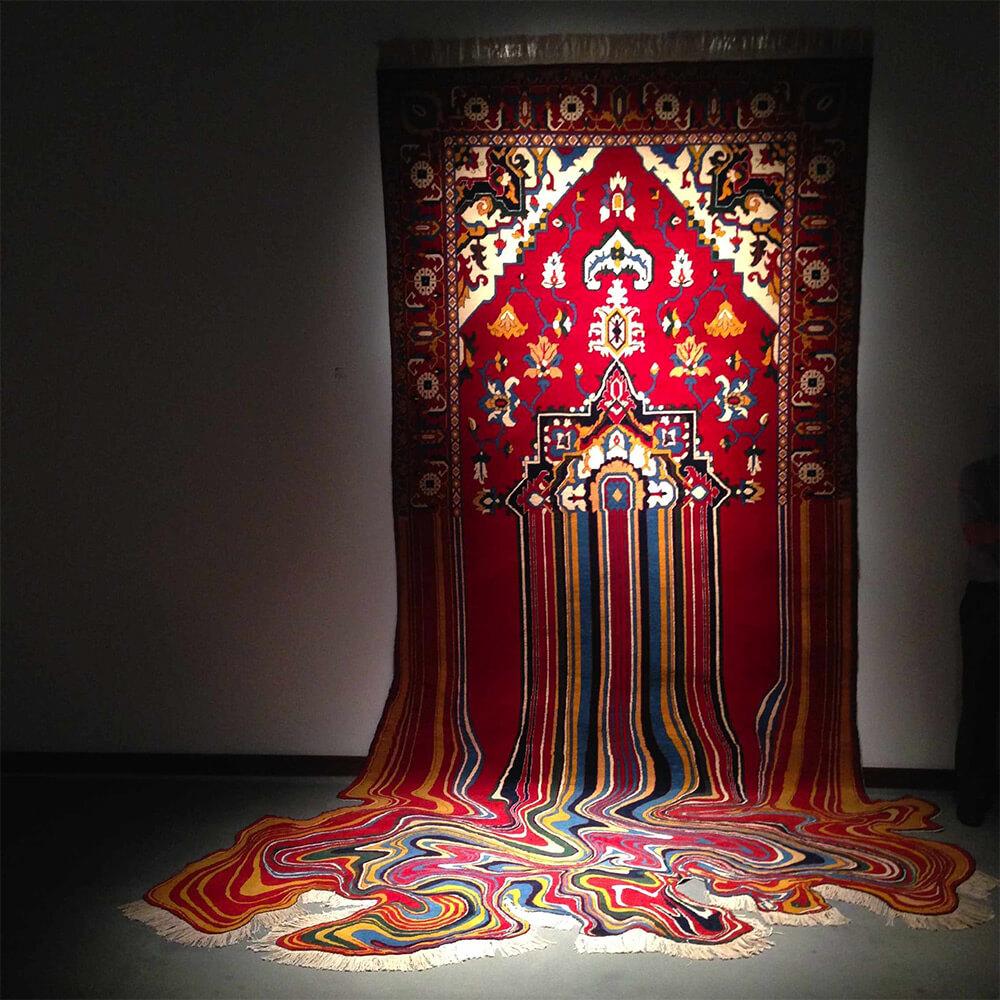 alfombra surreal