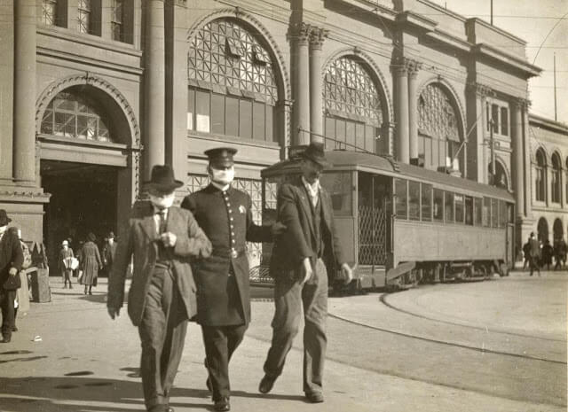 san francisco pandemia 1918