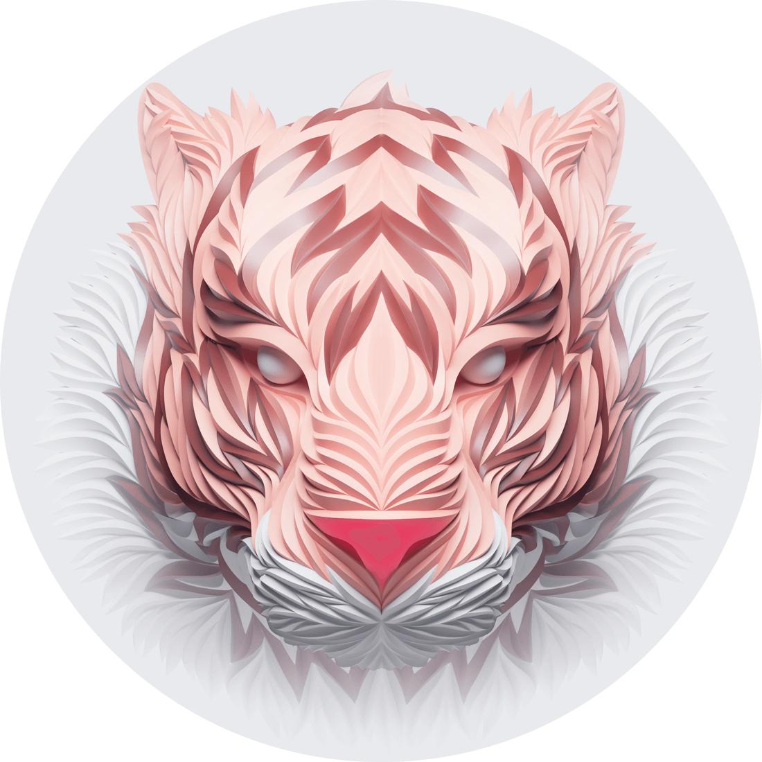 tigre rosa max shkret