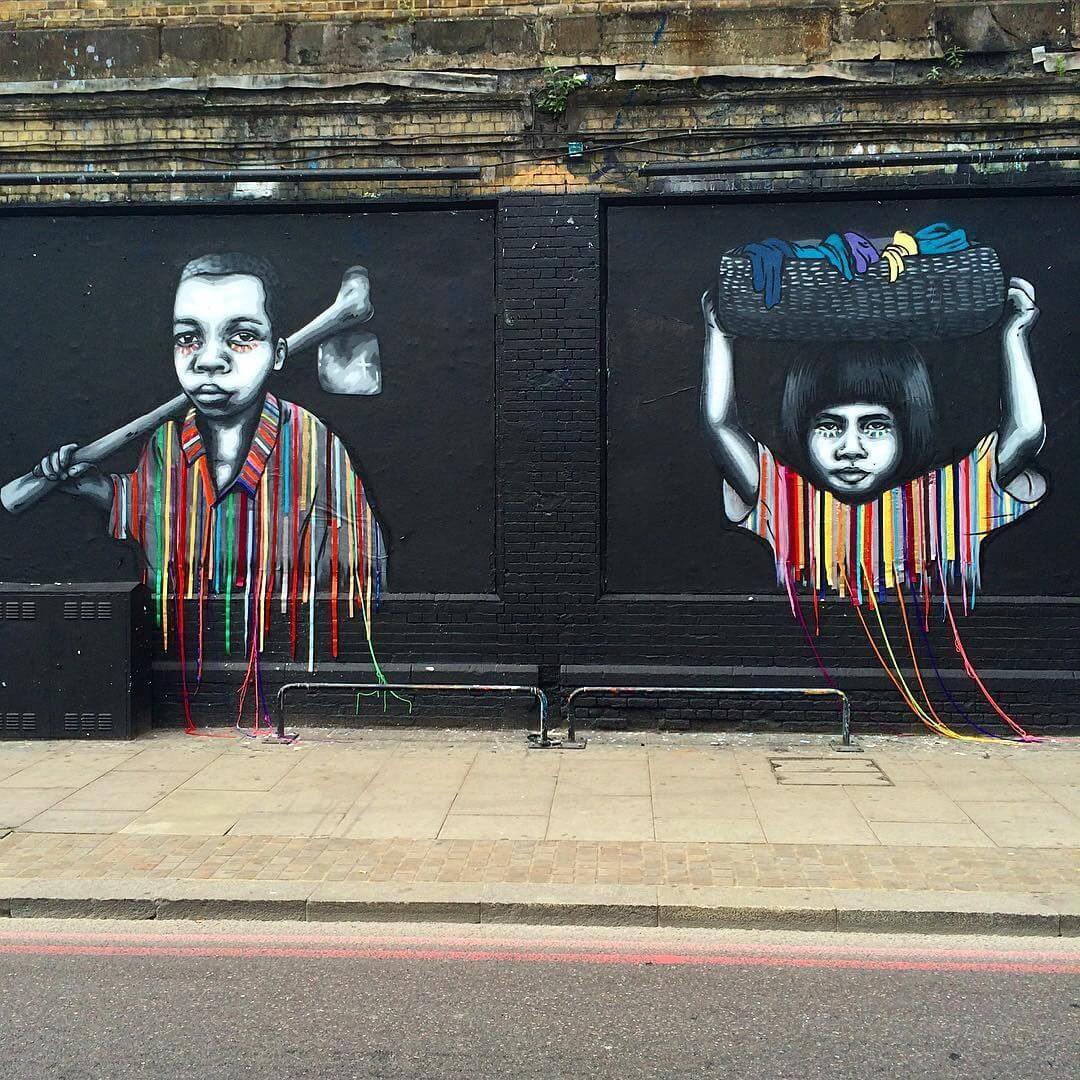 villasana intervencion street art