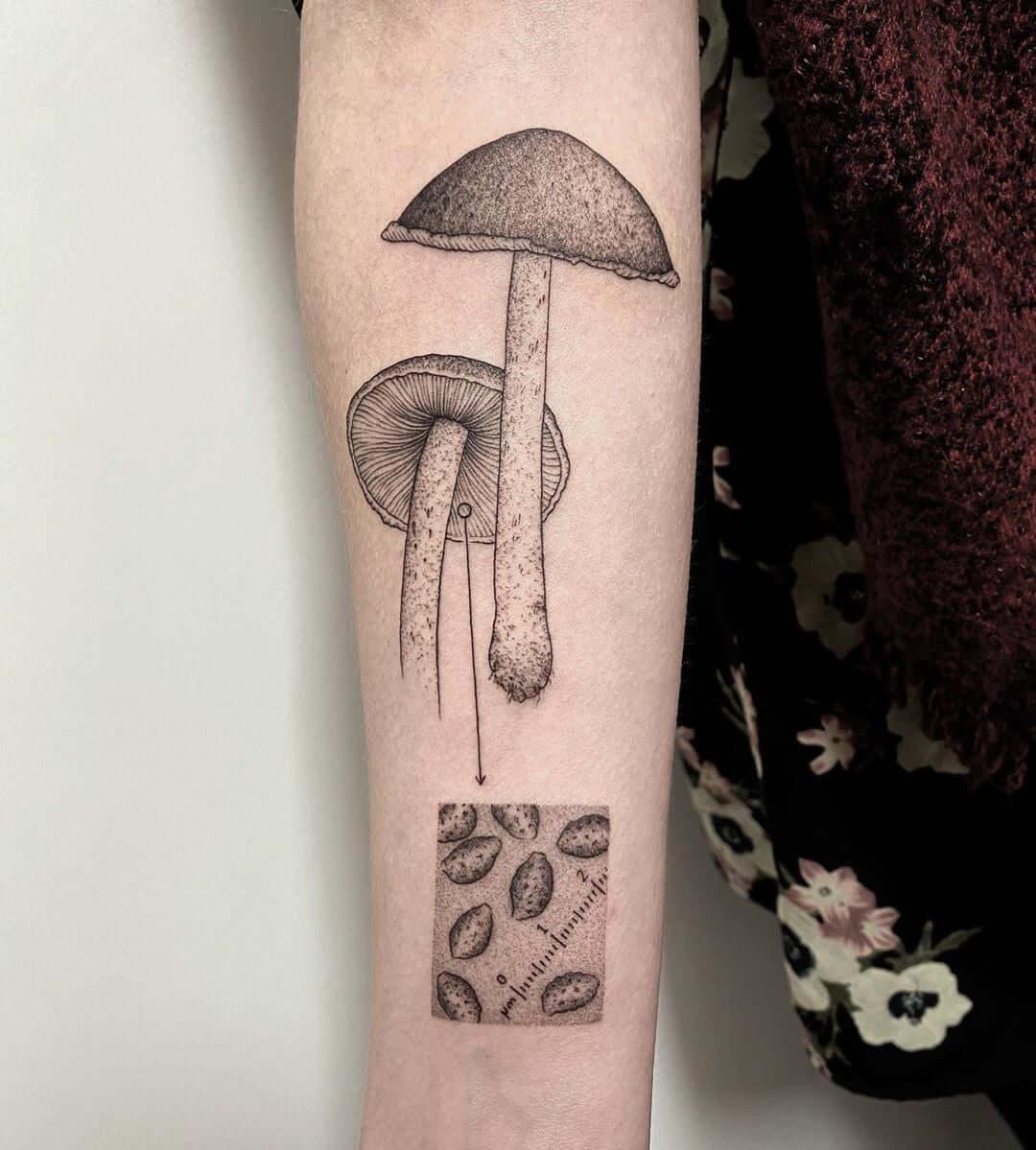 volpi michel tatuaje ciencia