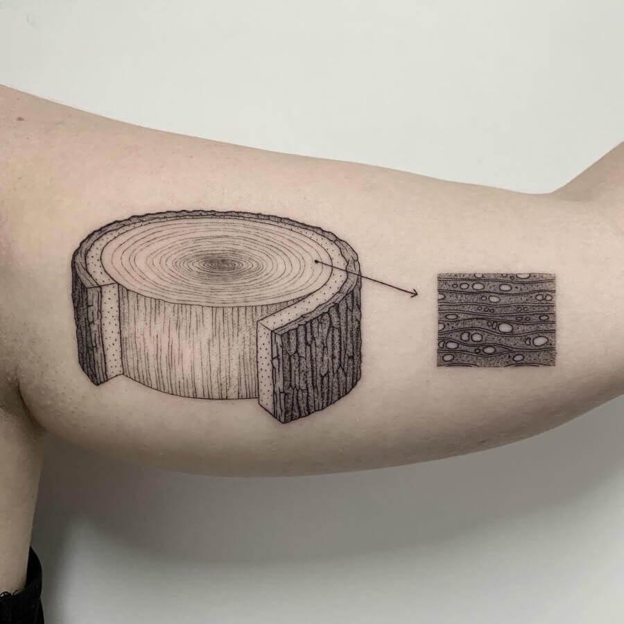 volpi tatuaje naturaleza