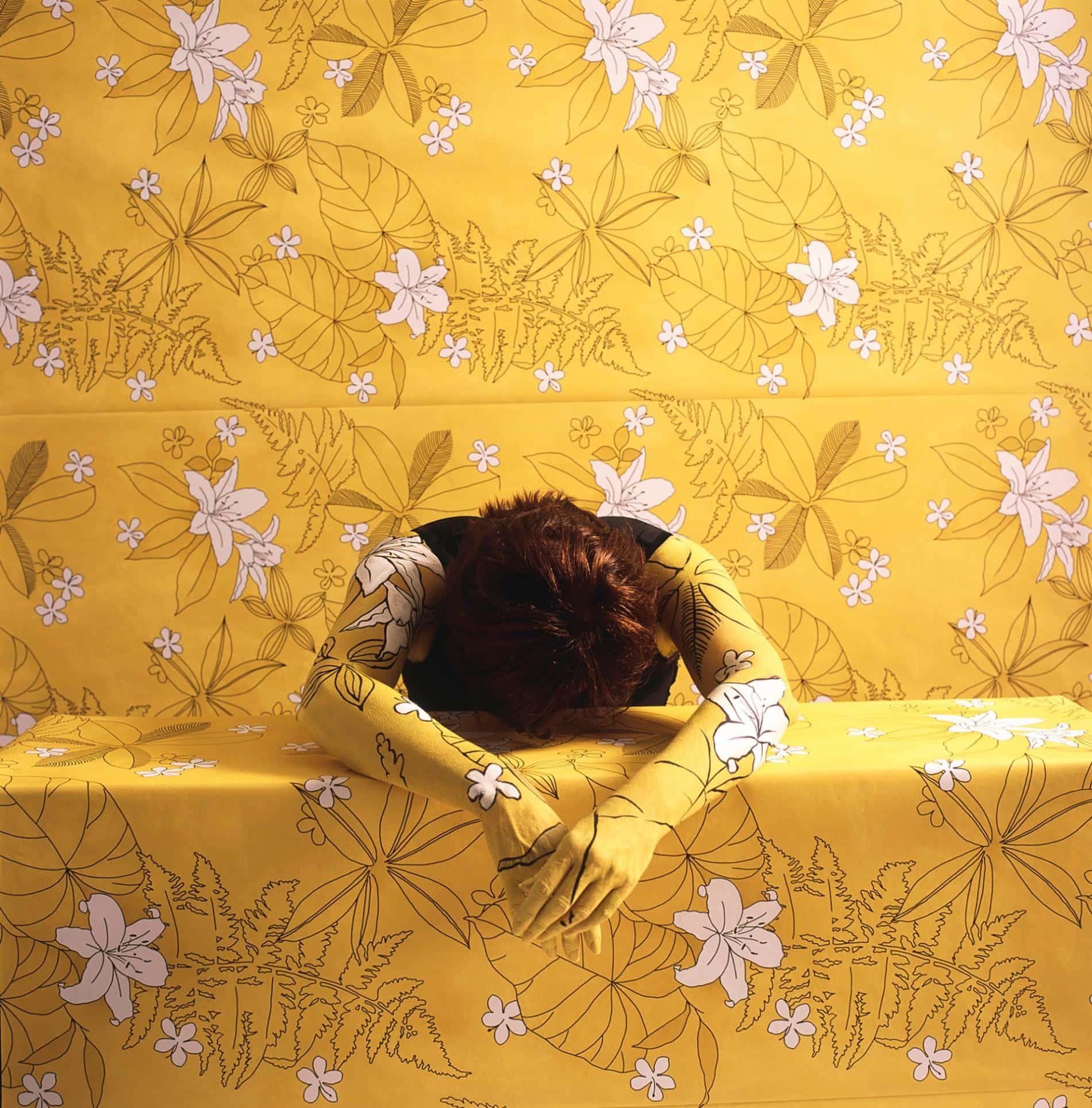 Cecilia Parades amarillo