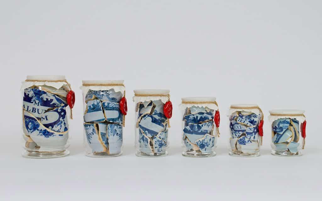 Memory vessel drug jars bouke de vries