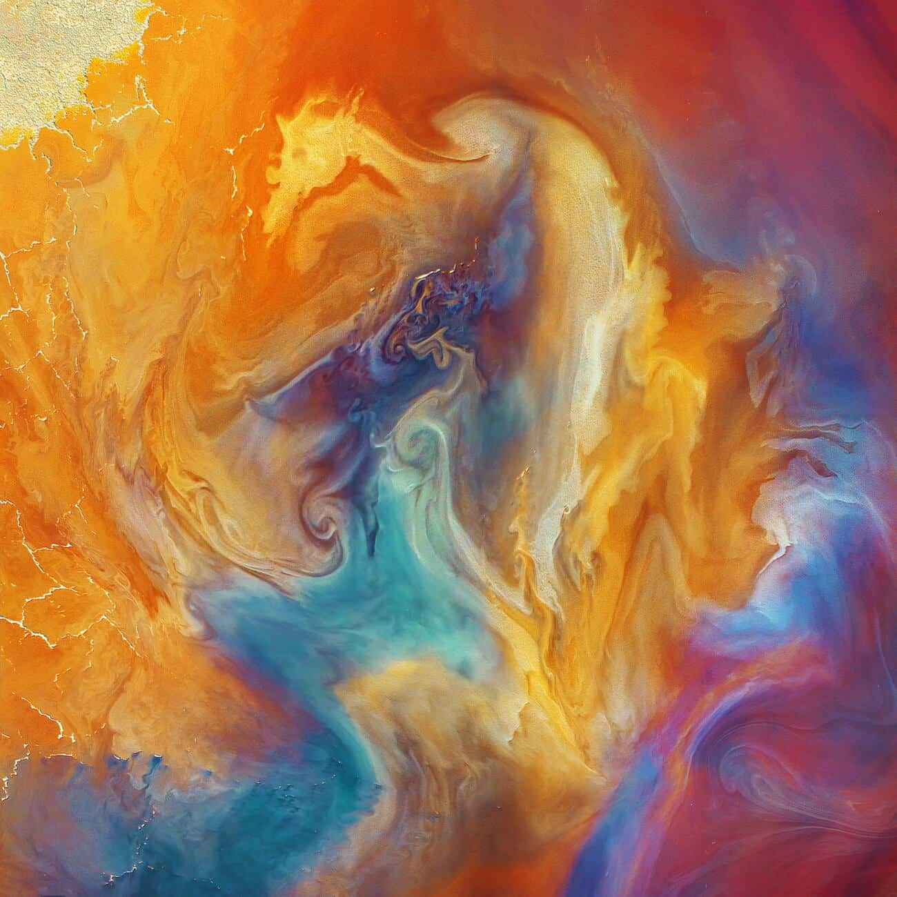 Phoenix Rising abstracto