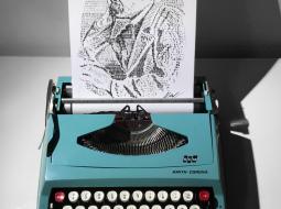 james cook maquina de escribir