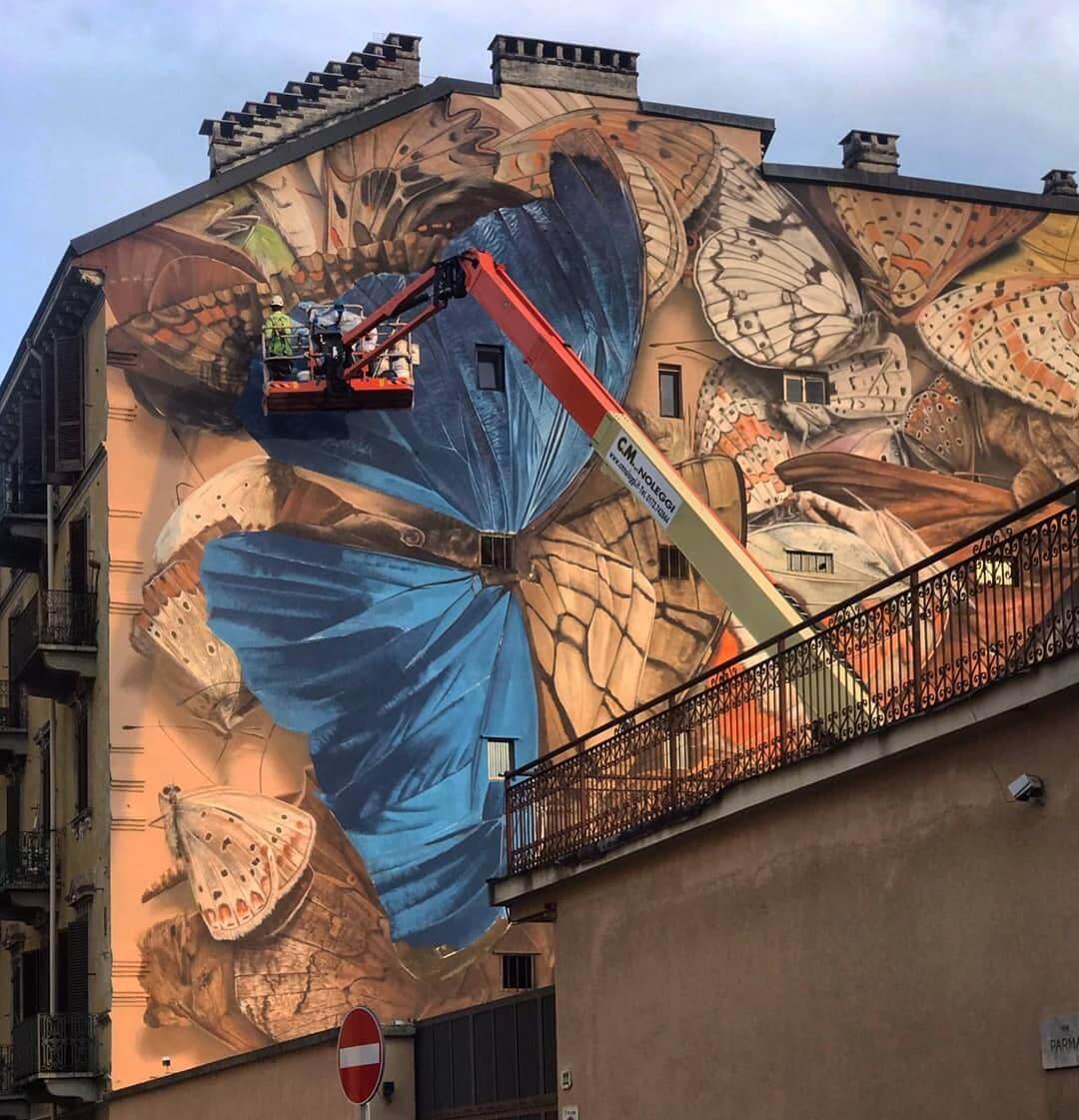 mantra arte callejero