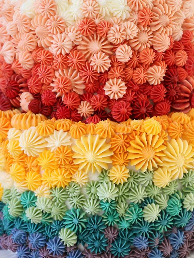 pastel de arcoiris alana jones mann