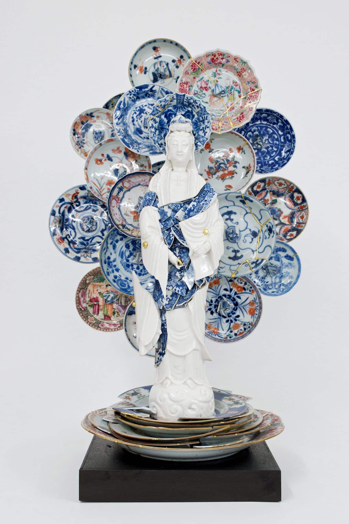 porcelana rota Bouke de Vries