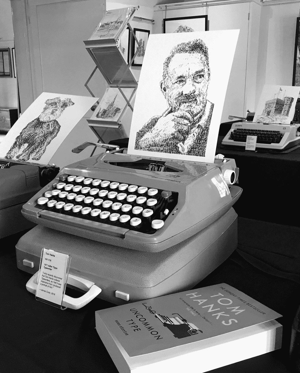 etratos maquina de escribir james cook