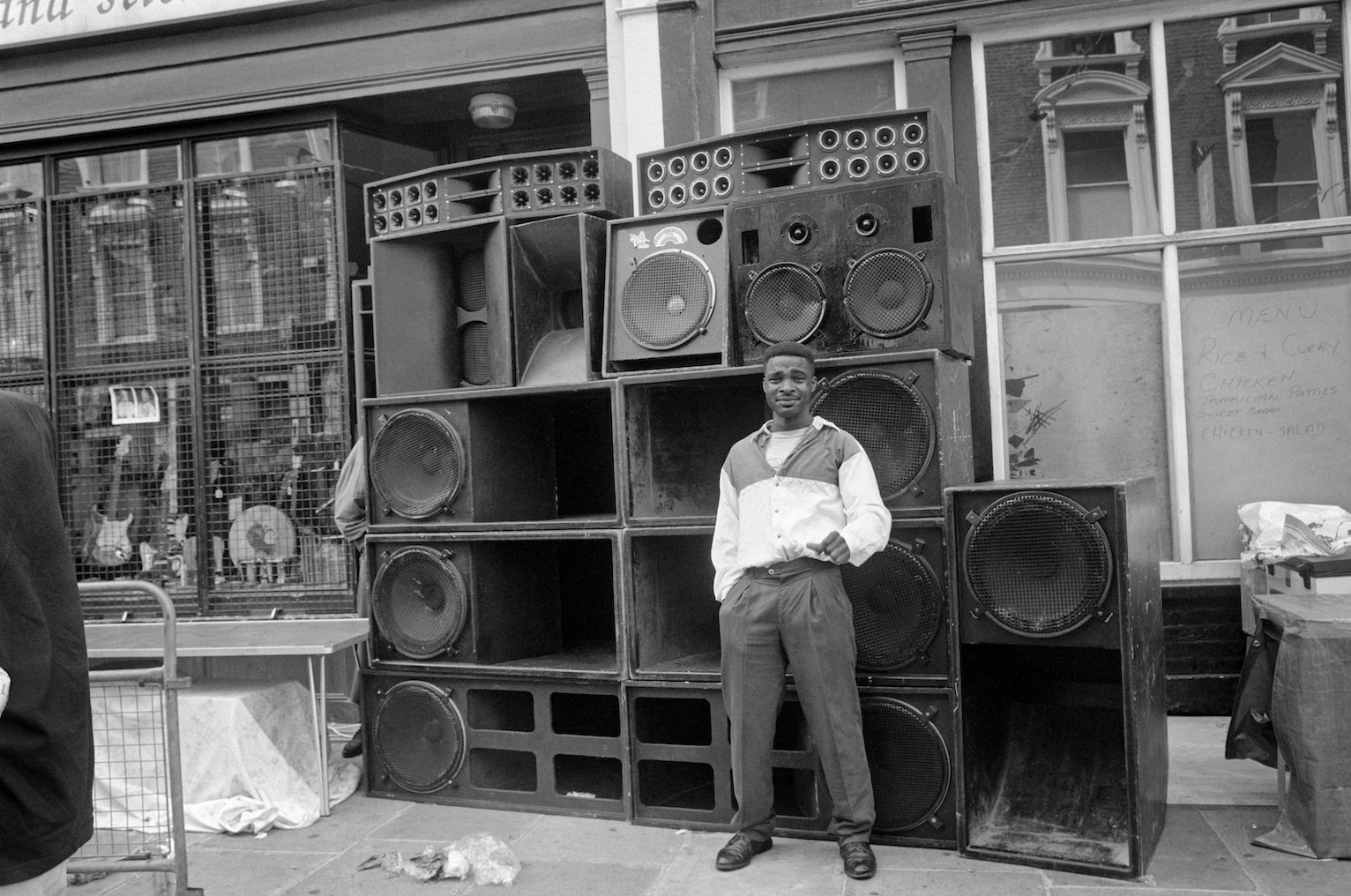 Notting Hill Carnival, All Saints Road, 21 August 1994. Notting Hill Carnival, All Saints Road, 21 August 1994.