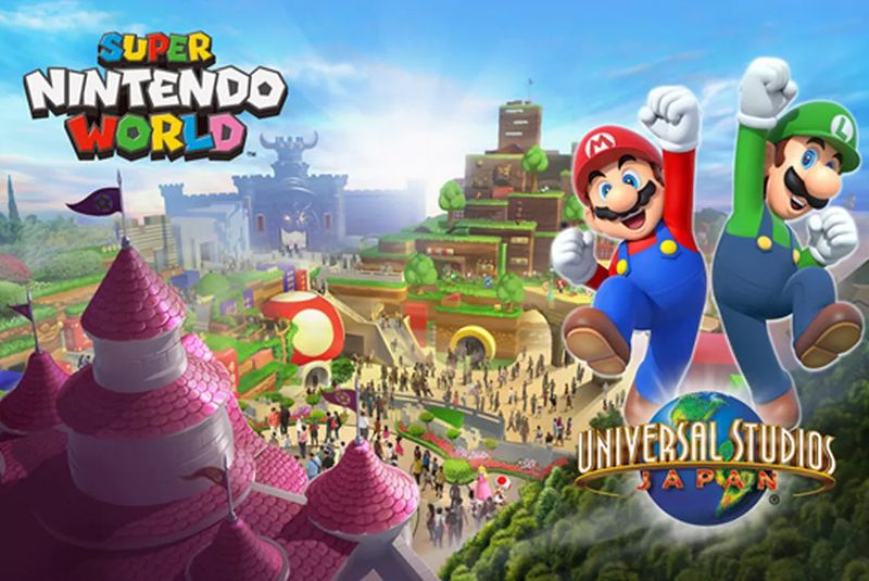 SUPER NINTENDO WORLD JAPON UNIVERSAL