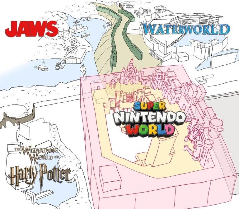 SUPER NINTENDO WORLD PLANOS