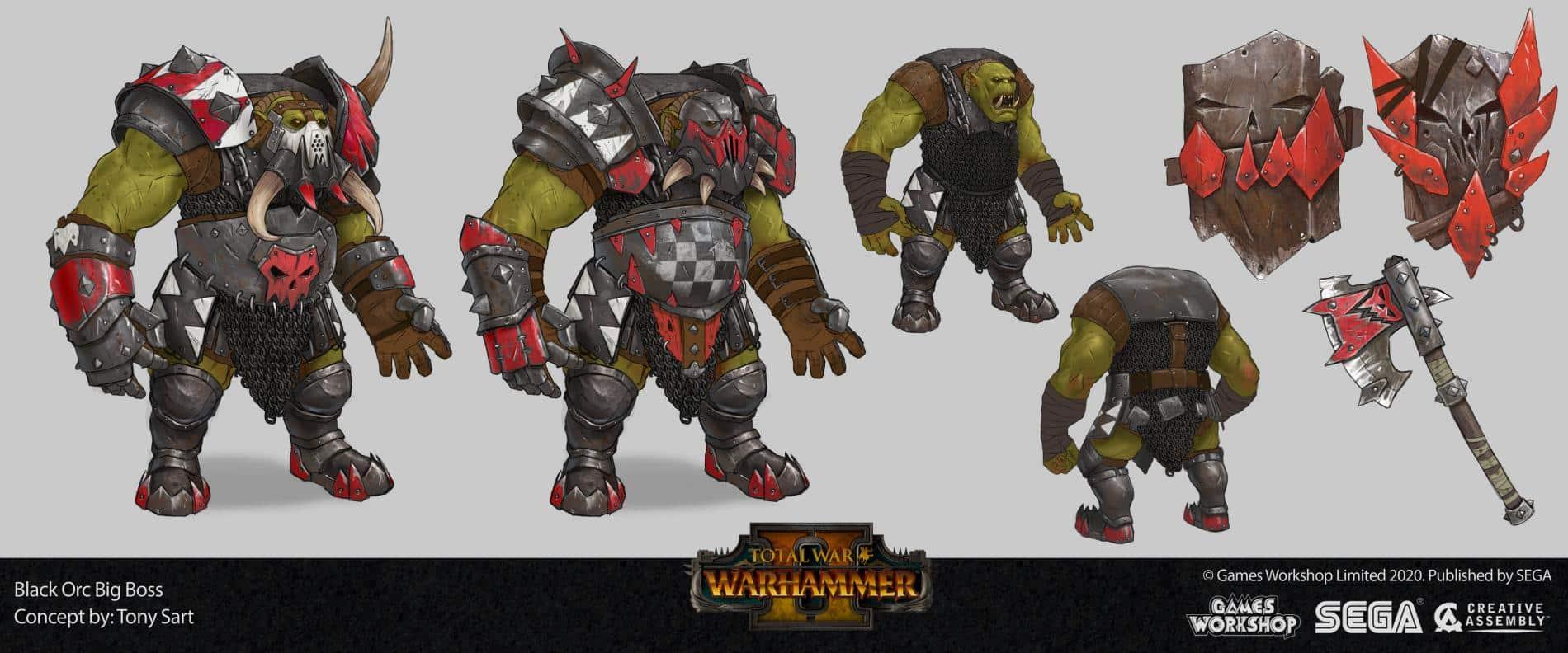 Total War Warhammer II tony sart