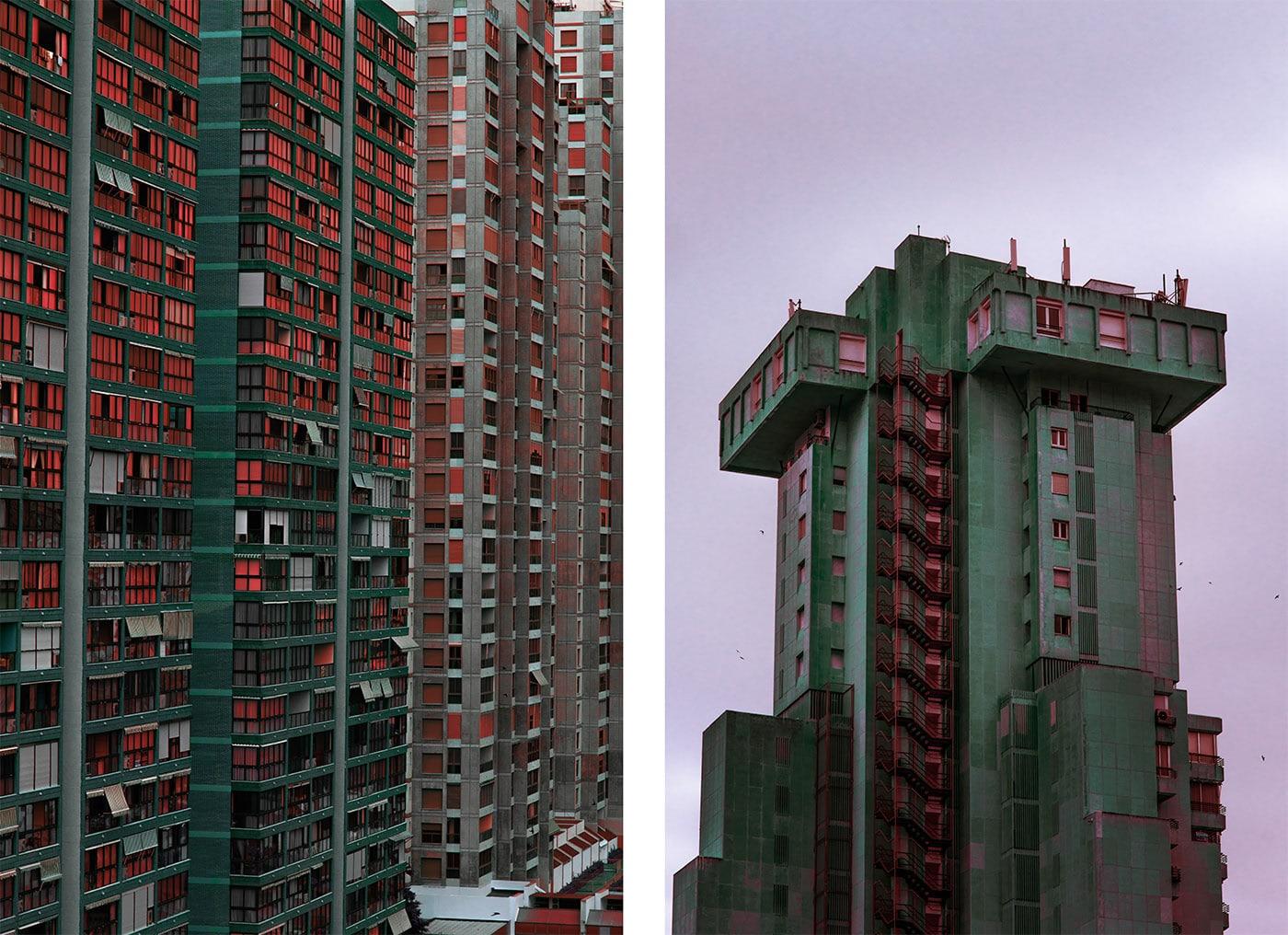Fotografía arquitectónica de edificios futuristas | Fotografía