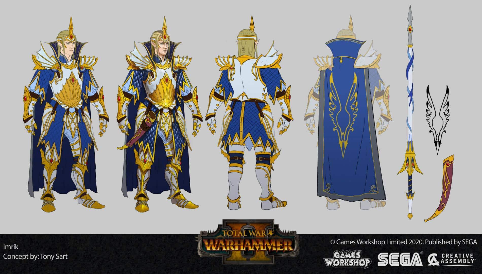 imrik Total War Warhammer II tony sart